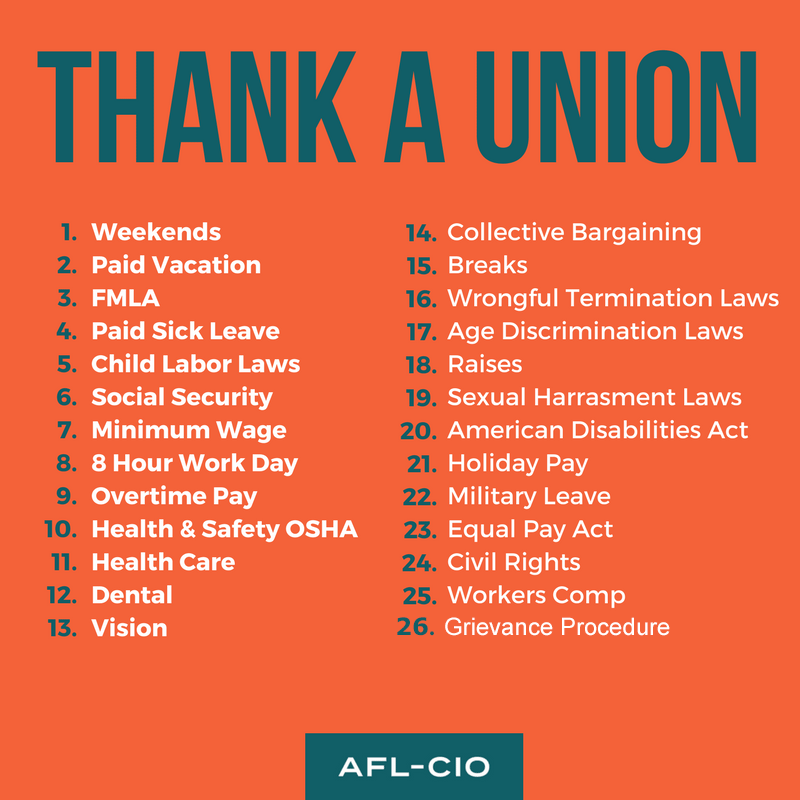Thank A Union