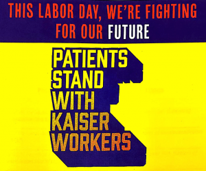 kaiser 2019 labor day rally